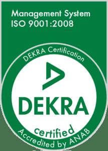 ISO DEKRA Certification